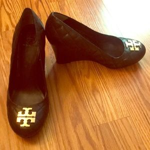 Tory Burch Quilted Wedge Heel